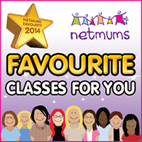 Sarah Parker Fitness winner of favourite classes for you Netmums awards 2014