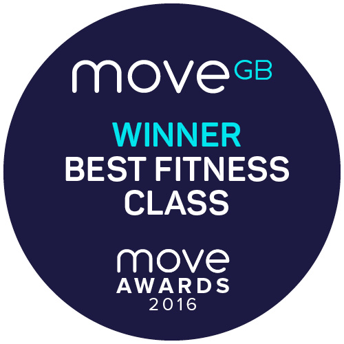 Sarah Parker Fitness winner of best fitness class in Manchester Move Awards 2016
